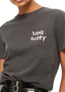 Topshop Cosmic Reality Graphic Tee