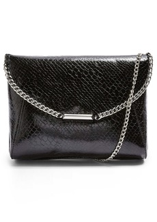 Topshop Court Convertible Faux Leather Clutch