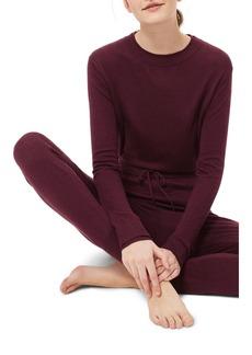 Topshop Crewneck Knit Pajama Top