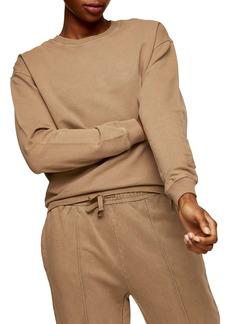 Topshop Crewneck Sweatshirt