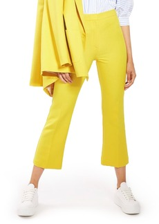 Topshop Crop Kick Flare Trousers