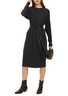Topshop Cut and Sew Sweater Dress