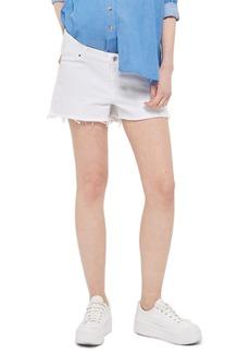 Topshop Cutoff Maternity Mom Shorts