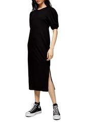 Topshop Cutout Back Midi Dress