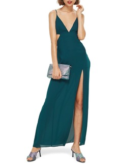Topshop Cutout Side Maxi Dress