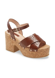 Topshop Dancer Platform Sandal (Women)