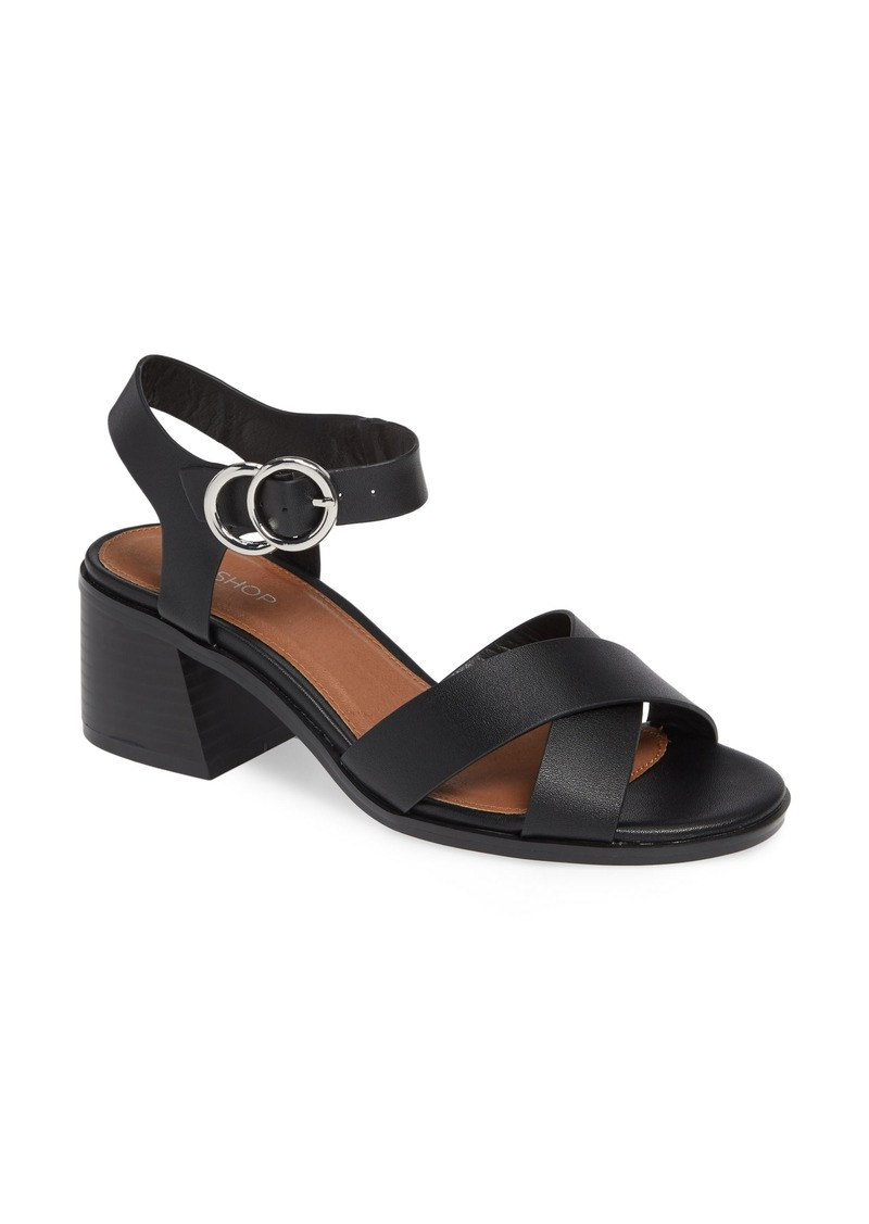e98bf7dbe On Sale today! Topshop Topshop Deedee Block Heel Sandal (Women)