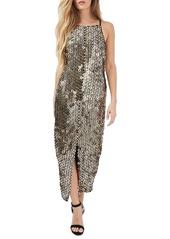 Topshop Disc Sequin Dress