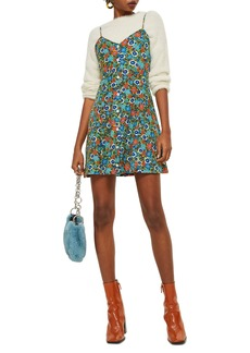 Topshop Ditsy Floral Mini Slipdress
