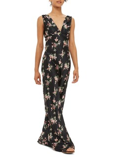 Topshop Ditsy Floral Print Maxi Dress
