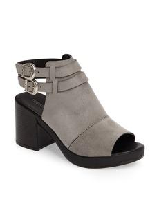 Topshop Dollar Western Buckle Heel Sandal (Women)