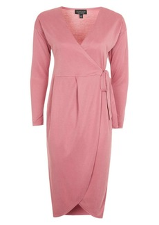 Topshop Dolman Sleeve Wrap Dress