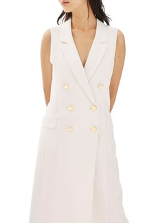 Topshop Double Breasted Blazer Dress
