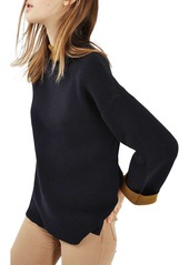 Topshop Double Faced Sweater