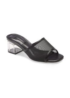Topshop Dusty Block Heel Slide Sandal (Women)