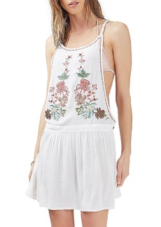 Topshop Embriodered Sundress
