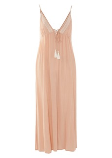 Topshop Embroidered Maxi Cover-Up