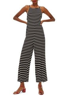 Topshop Eva Stripe Jumpsuit