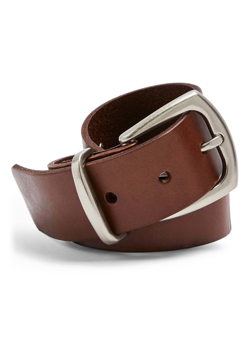 Topshop Everyday Leather Belt