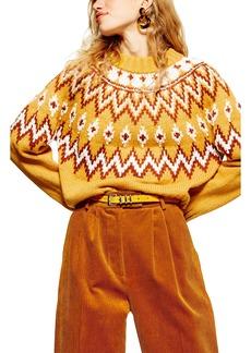 Topshop Fair Isle Sweater