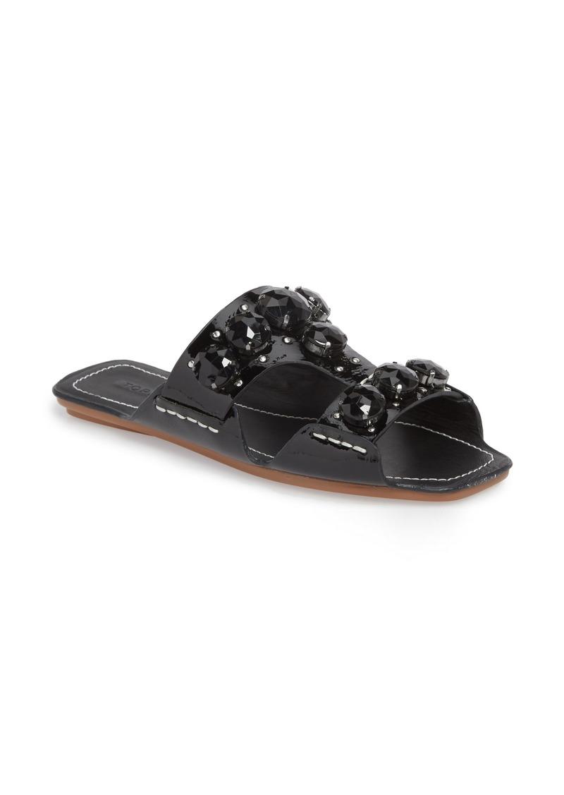 6ebddd49ed89 Topshop Topshop Fascinate Gem Slide Sandal (Women)
