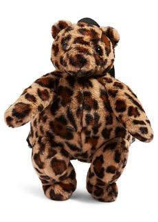 Topshop Faux Fur Teddy Bear Backpack