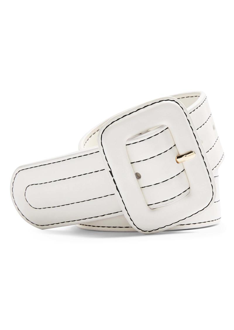 Topshop Faux Leather Belt
