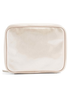 Topshop Faux Leather Makeup Bag