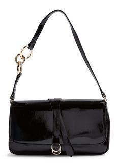 Topshop Faux Leather Shoulder Bag