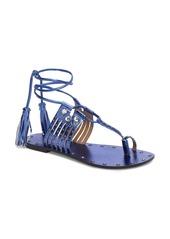 Topshop Fay Embellished Wraparound Sandal (Women)