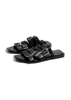 Topshop Felix Strappy Buckle Slide Sandal (Women)
