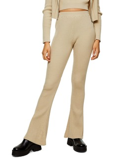 Topshop Flare Knit Trousers
