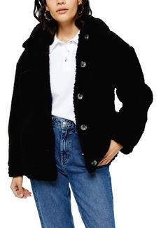 Topshop Fleece Jacket