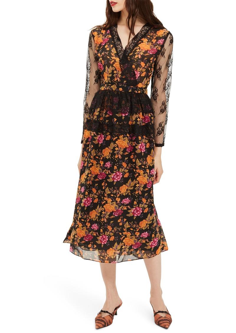 a92e127d1c1c Topshop Topshop Floral Midi Dress | Dresses