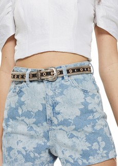 Topshop Floral Mom Shorts