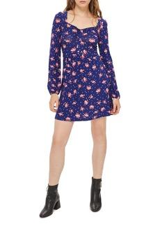 Topshop Floral Skater Dress