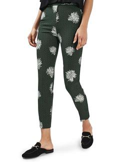 Topshop Floral Spot Pants