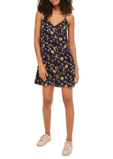 Topshop Floral Strappy Slipdress