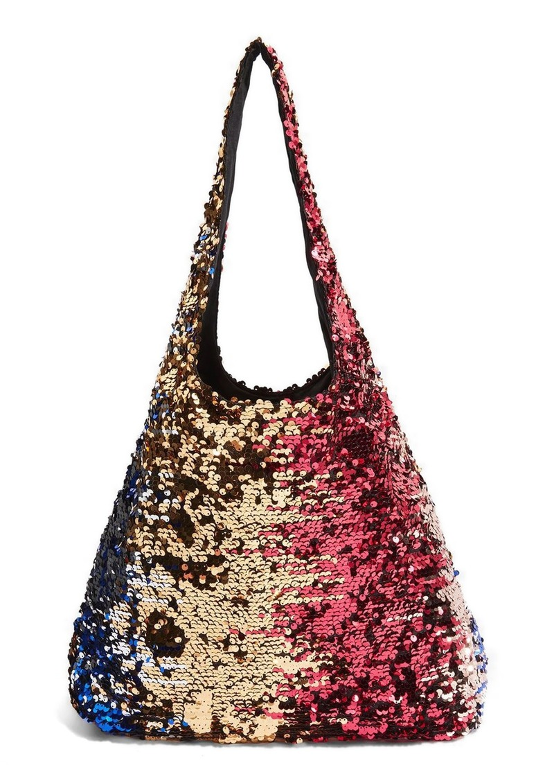 5cce8fbf601cd Freedom Sequin Shoulder Bag