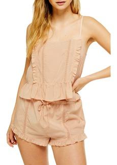 Topshop Frill Lace Pajamas