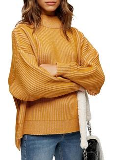 Topshop Funnel Neck Sweater (Petite)
