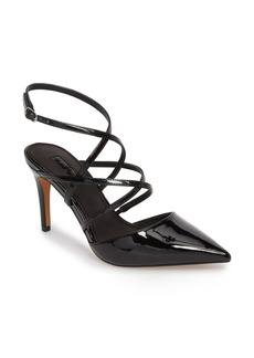Topshop Gabby Strappy Pointed Toe Pump (Women)
