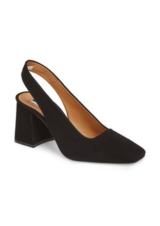 Topshop Gainor Block Heel Slingback Pump (Women)