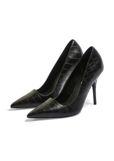 Topshop Game Elongated Pointy Toe Pump (Women)