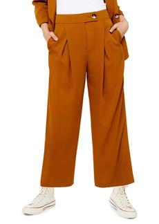 Topshop Geeta Crop Wide Leg Pants
