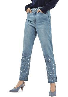 Topshop Gemstone Mom Jeans