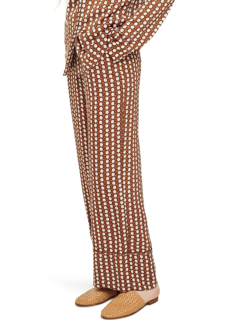 Topshop Geo Print Pajama Trousers