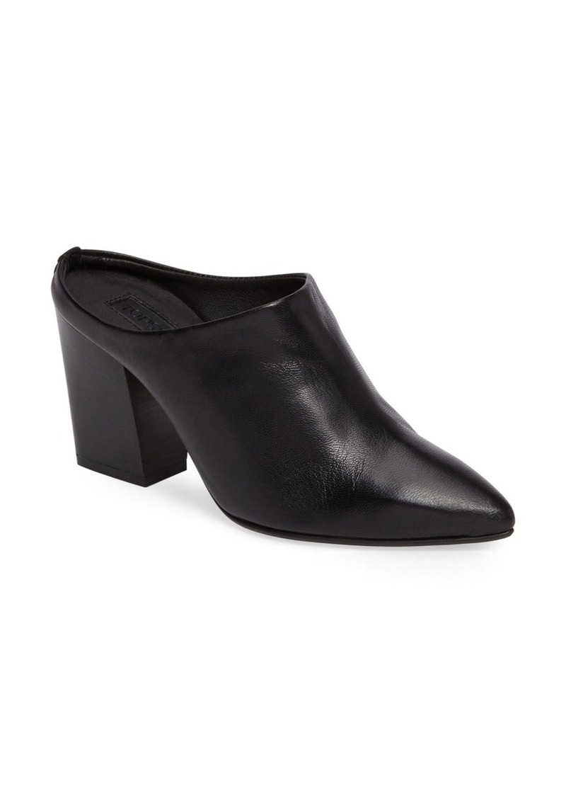 Topshop Global Pointy Toe Mule (Women)
