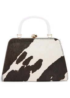 Topshop Greed Genuine Calf Hair Bag