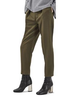 Topshop Grommet Detail Peg Trousers